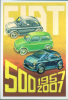 Fiat 500 - Topolino CPM 50° Anniversari -1004- - Cartoline