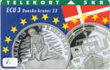 Denmark ECU DANMARK (1) PIECES ET MONNAIES MONNAIE COINS MONEY PRIVE 11.000 EX - Stamps & Coins