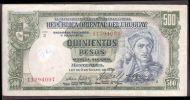 ® URUGUAY: 500 Pesos Provisorio (1939/67) - Uruguay