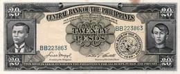PHLIPPINES 20 PESO 1949 P 137 D AU-UNC - Filipinas