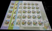 2010 Monkey King Stamps Sheets Book Chess Buddhist Peach Fruit Wine Ginseng Medicine God Costume - Buddhism