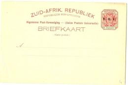 REF LCE1 - AFRIQUE DU SUD EP CP NEUVE - Afrique Du Sud (1961-...)