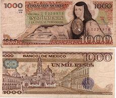 MESSICO Mexico 500 Pesos 1984 BANKNOTE Unc - Mexico