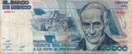 Mexico 20000 Pesos 1987 Messico  Vedi Foto - México