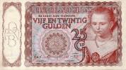 Netherlnd 25 Gulden,11.4.1944, Sig:Robertson/Rost Van Tonningen,Germany Occupation,as Scan - [2] 1815-… : Kingdom Of The Netherlands