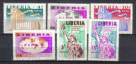 SS1970 - LIBERIA , Yvert Serie N. 333/335+aerea  *** - Liberia