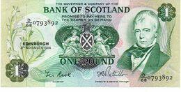 SCOTLAND 1 POUND BANKNOTE 1984 Aunc - [ 3] Escocia
