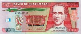 GUATEMALA Note, 2008 , UNC 10 Quetzales - Guatemala