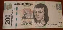 MEXICO 200 PESOS 2007 SERIE C P NEW UNC - Mexico