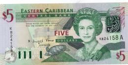 EASTERN CARIBBEAN STATES: ST. VINCENT ND (2003) $20 UNC - Banknotes