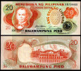 PHILIPPINES 20 PESO PISO 1978 P 162 UNC - Filippine