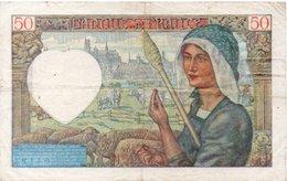 France 50 Francs 23-1-941F Cond - 1871-1952 Gedurende De XXste In Omloop