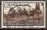 ITALIE -- N°609   Obliteré -- 1951 - 1946-60: Gebraucht