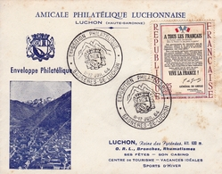 Exposition Philatélique Luchonnaise Luchon Pyrénées Haute Garonne 1964 - France