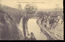 1926 OUDE KAART NAAR HILLEGOM - CITADELLE  - PANORAMA VERS LA SAMBRE -  IOB SERIE XI NR 22  - ZIE KEERZIJDE - Namen