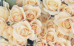 Télécarte Japon - FLEUR ROSE  - FLOWER  Japan Phone Card - Blume Telefonkarte  - 557 - Fleurs