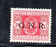 RSI72 - R.S.I. , Segnatasse 20 Lire  N. 59 VERONA  * - 4. 1944-45 Repubblica Sociale