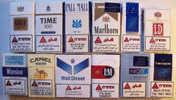 Empty Tobacco Boxes - 12 Items #0969. - Empty Tobacco Boxes