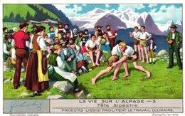 1285 La Vie Sur L'alpage  -   HET LEVEN OP DE ALPENWEIDEN Liebig Chromo Serie –  Avoid Sending-cost &  Read Description; - Liebig