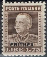 Erythrée - 1928 - Yvert & Tellier N° 131* - Erythrée