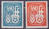 EUROPESE GEDACHTE - 1959 - Michel - VN-New York - Nr 78/79 - MNH** - Cote 0,70€ - Ideas Europeas