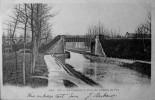 Le Canal Et Le Pont De Chemin De Fer - Ay En Champagne