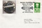 Commemoration 75 Ans Du Vol Zeppelin Autour Du Monde. Akron. Ohio. USA - Zeppelin