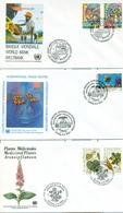 United Nations Unies Vienna Austria 1989 1996  21 FDC  Small Collection - FDC