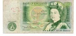 * RHODESIA & NYASALAND - 1 POUND 1960 AVF - P 21 B - Banknotes