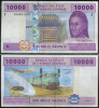 * CENTRAL AFRICAN ST. 10000 FRANCS 2002 UNC P 610C - República Centroafricana