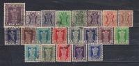 Lot 115 India Service 21 Different - Dienstzegels