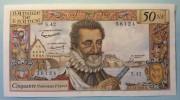 50 Nouveaux Francs  5.11.1959     Henri IV - 1959-1966 Nouveaux Francs