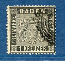 Allemagne, Bade, N° 9 Oblitéré - Baden