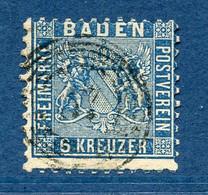 Allemagne, Bade, N° 14 Oblitéré - Baden