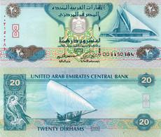 * UNITED ARAB EMIRATES - 20 DIRHAMS 2007 UNC - P 28 - Emirati Arabi Uniti