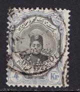Iran 1922 / 23. 4 Kran. Usado. O. - Iran