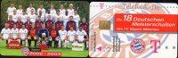 Team Fußball Meister FC Bayern München TK M 20/2003 O 20€ Deutschland Meisterschaft 2002/2003 Soccer Telecard Of Germany - Deutschland