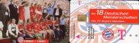 Team Fußball Meister FC Bayern München TK M 09/2003 O 20€ Deutschland Meisterschaft 1980/1981 Soccer Telecard Of Germany - Deutschland