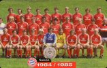 Team Fußball Meister FC Bayern München TK M 10/2003 O 20€ Deutschland Meisterschaft 1984/1985 Soccer Telecard Of Germany - Duitsland