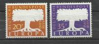 SAAR 1957 - EUROPA - CPL. SET  - MNH MINT NEUF - Europa-CEPT