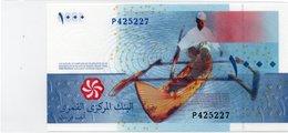 COMORES 1000 FRANCS 2005 PICK # 17 UNC. - Comore