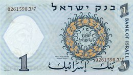 1 ISRAEL 1958 BANKNOTE PICK 30c CRISP UNC. - Israele