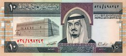 Saudi Arabia 10 Riyals  VF Banknote  Kg Faisa - Arabia Saudita