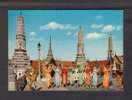 THAILANDE - FINGER NAIL - DANCE IN THE EMERALD BUDDHA TEMPLE BANGKOK - THAILAND - ANIMATED - Thaïlande