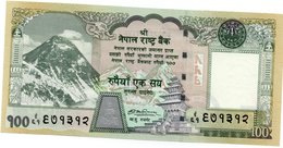 Nepal, 100 Rupees, ND (2008), P-New, UNC Everest, Rhino - Népal