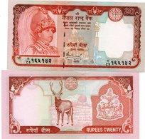 NEPAL 20 RUPEES P 47 C KING - Nepal