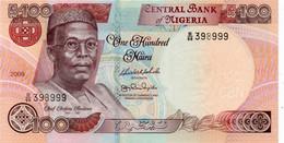 NIGERIA - 100 NAIRA 2009 UNC - P NEW - Nigeria