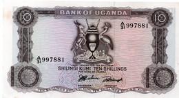 10 Shillings - Uganda 1966 (UNC) P.2 - Uganda