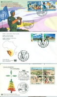 United Nations Unies Austria Vienna 1985 2002  21 FDC Small Collection - FDC