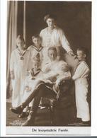 SAK388/ Fotokarte  Kronprinz Mit Familie (ungebraucht) - Familias Reales